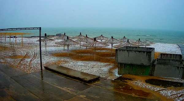 фото курорта в снегу