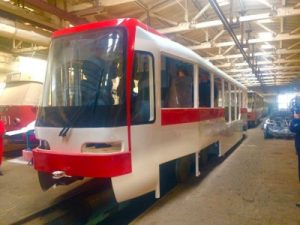 фото новых запорожских трамваев