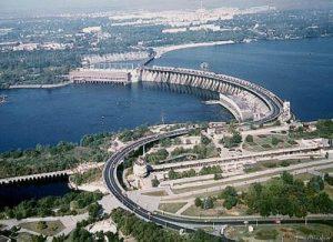 фото запорожской плотины