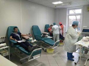 внешний вид станции переливания крови