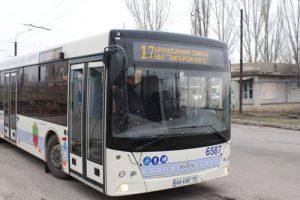 новый автобус в запорожье