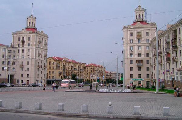 площадь Александра Поляка Запорожье